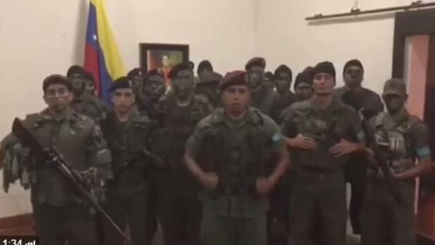 Militares sublevados