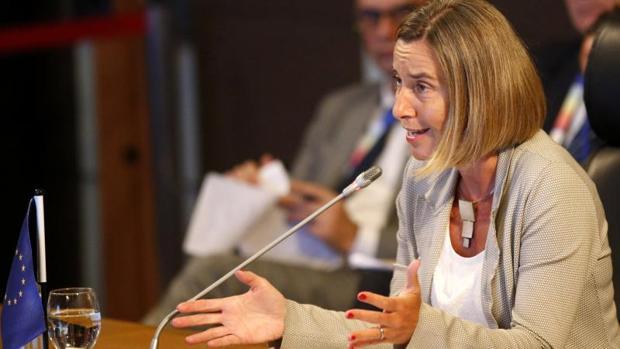 Federica Mogherini en una imagen reciente