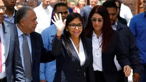 Delcy Rodríguez, presidenta de la Constituyente