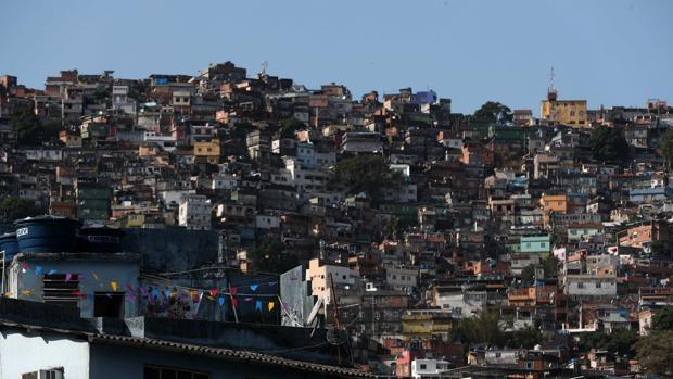Vista general de la favela Rocinha hoy, en Río de Janeiro