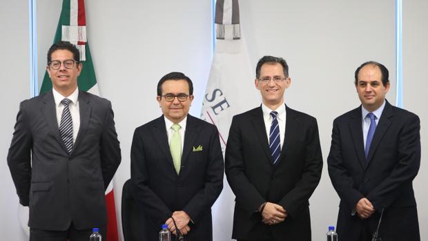 Equipo que representa a méxico en la negociación del NAFTA