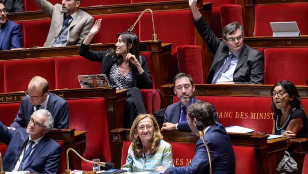 Votación en la Asamblea Nacional francesa