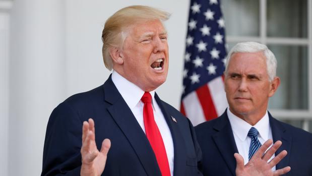 El presidente de EStados Unidos afirma que se siente apoyado «al cien por cien» por el Pentágono y dirigentes políticos
