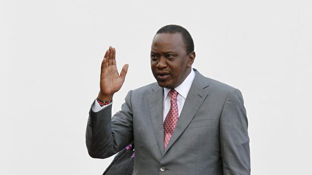 El presidente de Kenia, Uhuru Kenyatta, en una imagen de archivo de 2015