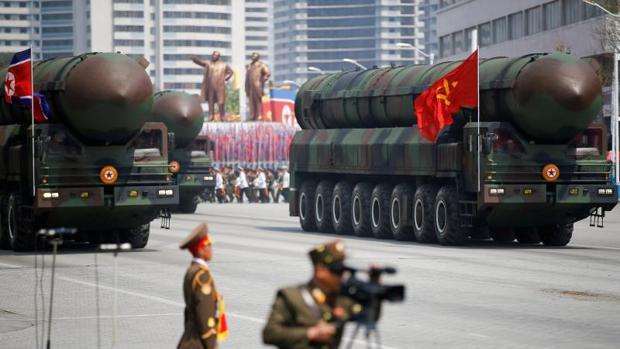 Los misiles balísticos intercontinentales son una de las grandes amenazas de Corea del Norte
