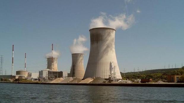 La central nuclear de Tihange, en Bélgica