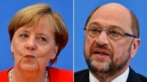 Angela Merkel y Martin Schulz se enfrentarán en un debate televisado el domingo