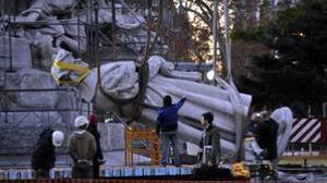 Buenos Aires retiró en 2014 una estatua de Colón por motivos semejantes