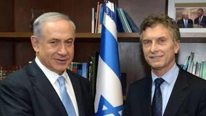 Netanyahu recibió la visita de Macri en 2014 cuando este era alcalde de Buenos Aires