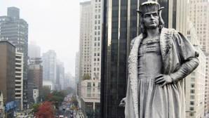 Monumento a Cristóbal Colón en Columbus Circus, Nueva York