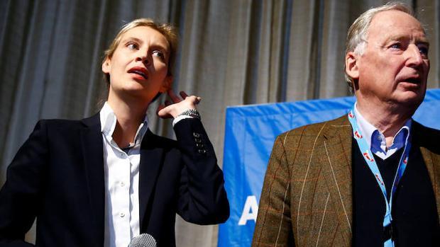 La candidata de AfD, Alice Weidel