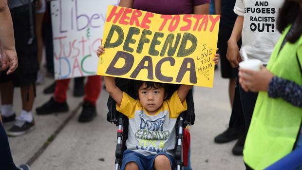 Protestas contra la expulsión de los «dreamers»