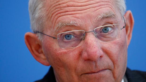 Wolfgang Schäuble, ministro de Finanzas aleman