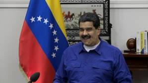 El presidente venezolano, Nicolás Maduro, durante una intervención