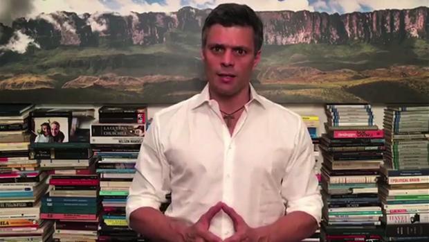 Leopoldo López, preso político venezolano, es uno de los nominados al Sajárov
