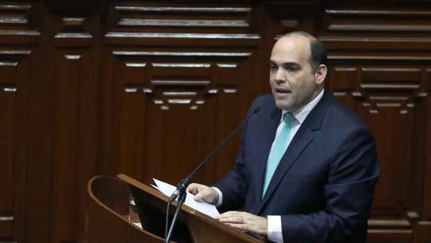 El primer ministro de Perú, Fernando Zavala