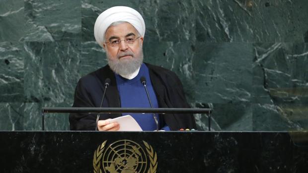 El presidente de Irán, Hassan Rouhani, ante la Asamblea General de la ONU