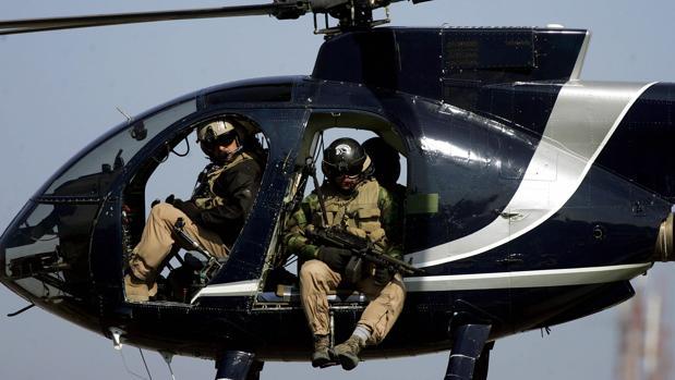 Empleados de Blackwater vigilan Bagdad antes de que el Gobierno iraquí vetara a la compañía