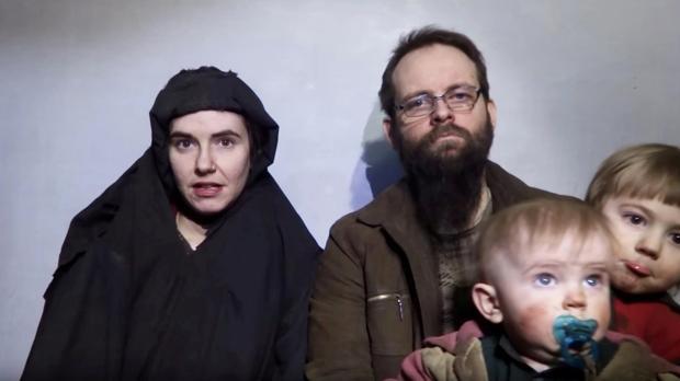 Captura de un vídeo difundido por los talibanes en 2016