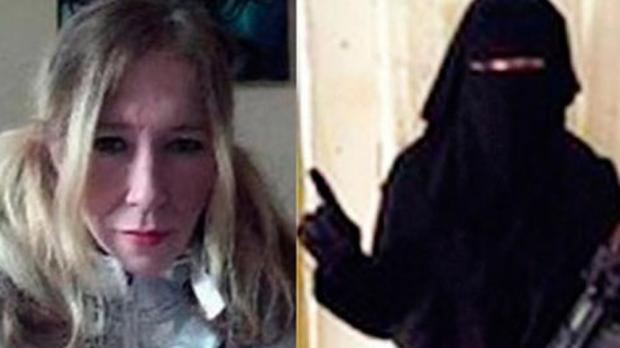 Sally Anne Jones, antes y después de incorporarse a Daesh