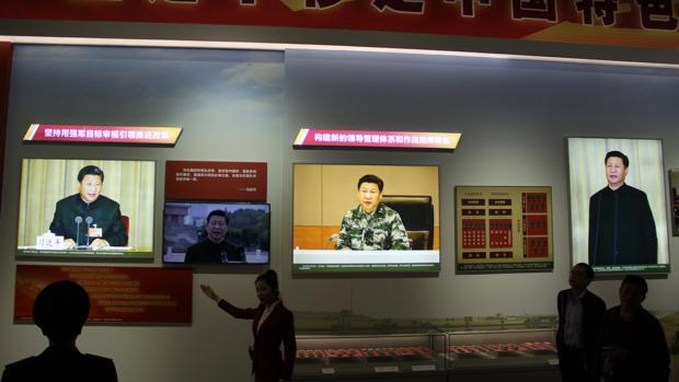La exposición sobre Xi Jinping