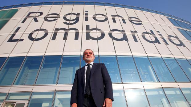 Roberto MaronI, exministro del Interior, jefe de gobierno de Lombardía y cofundador de la Liga Norte