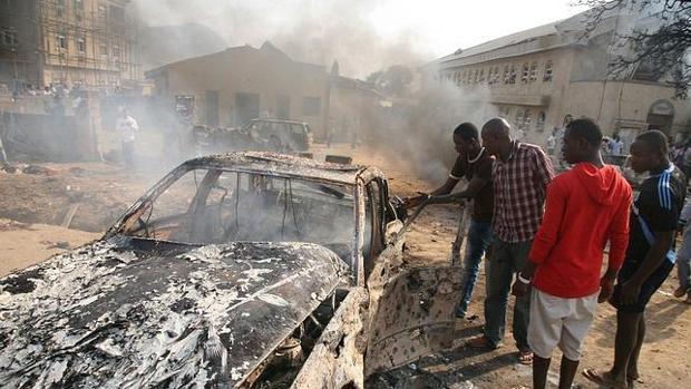 Imagen de uno de los atentados que sufrió Nigeria en 2011
