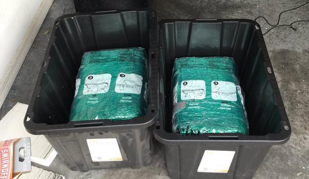 Una pareja de Florida se encontró marihuana en el interior de unas cajas de almacenaje que compró a través de Amazon