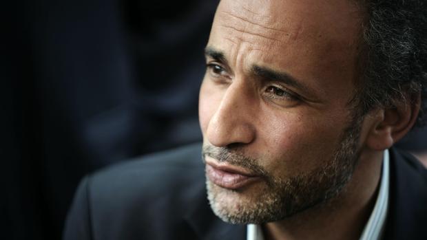 Tariq Ramadan, durante una conferencia en Nantes en 2010