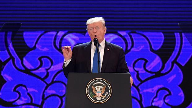 Trump, en su discurso en la inauguración de la APEC en Vietnam