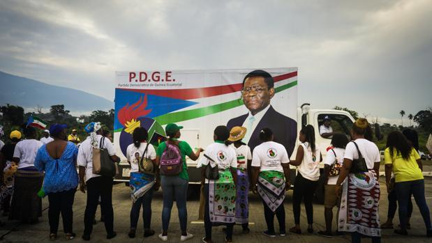Teodoro Obiang gobierna con mano de hierro esta excolonia española desde 1979