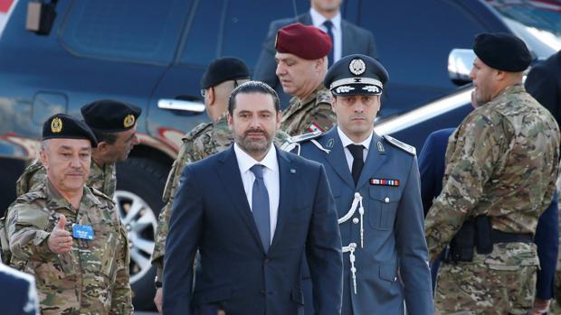 Saad Hariri, primer ministro dimisionario de Líbano