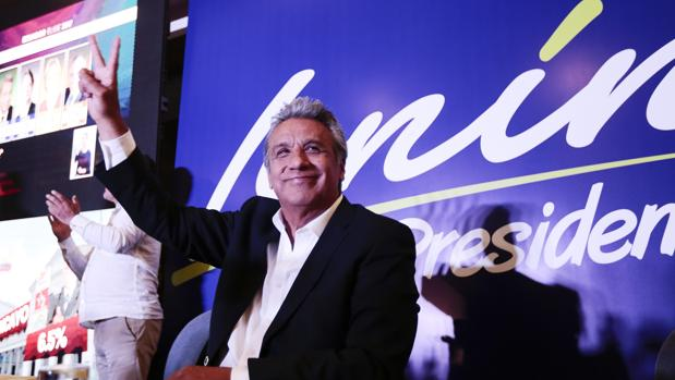 Lenín Moreno se ha convertido en el principal oponente de su mentor y expresidente, Rafael Correa