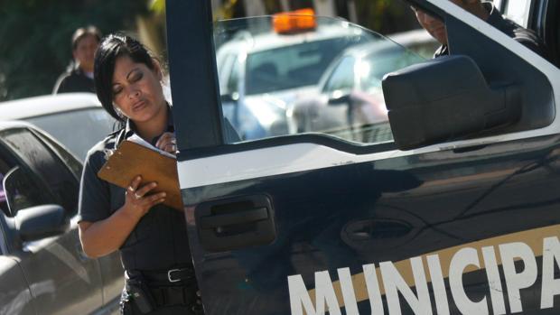 Foto de archivo de la policía de México