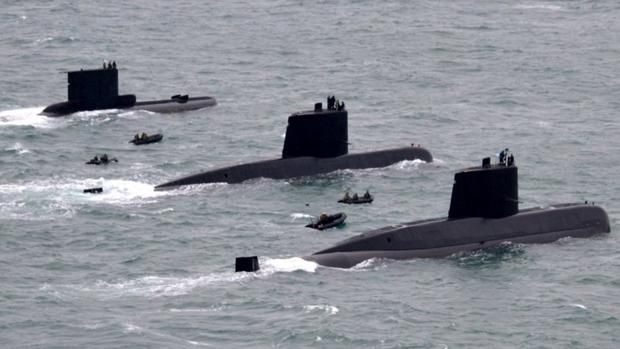 Submarinos de la Armada argentina: eL A.R.A. Salta, el A.R.A. San Juan y el A.R.A. Santa Cruz