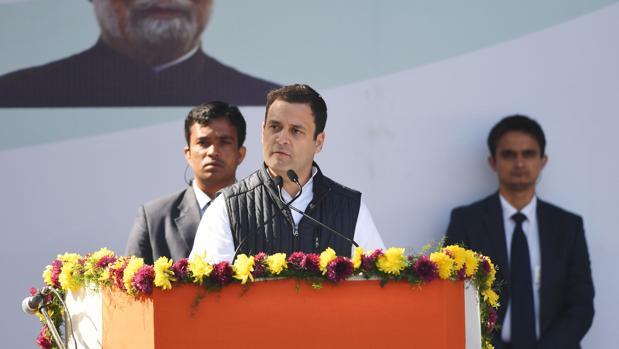 Rahul Gandhi es bisnieto, nieto e hijo de primeros ministros indios
