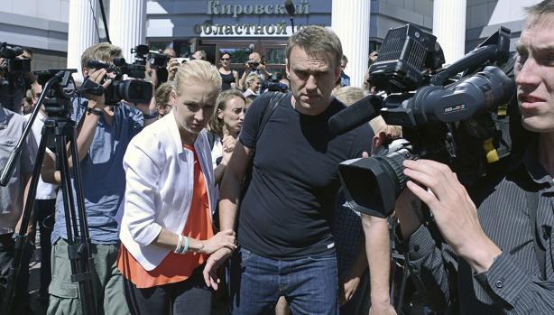 El líder de la oposición rusa, Alexéi Navalni