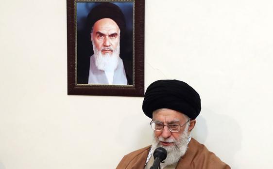 El líder supremo iraní, Ali Jamenei, el pasado día 2
