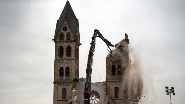 La demolición de la catedral de Immerath