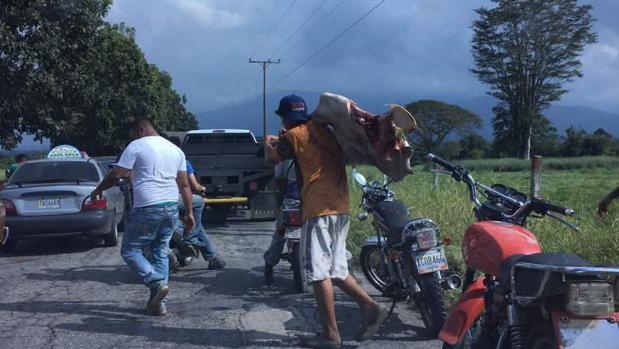 Saqueos en el municipio Caracciolo Parra Olmedo (estado Mérida)