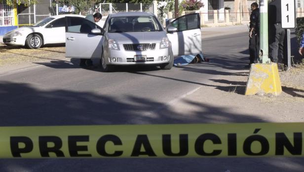 Imagen de archivo de un asesinato en México