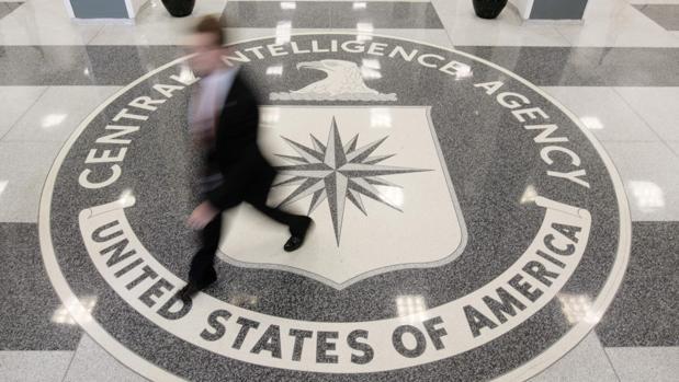 El vestíbulo de la sede de la CIA en Virginia, en una imagen de archivo