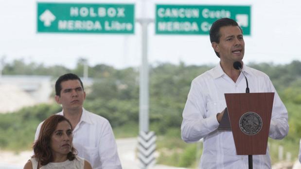Tras una reciente caída del nivel de criminalidad, Estados Unidos ha retirado restricciones para viajar a esta zona de México. En la imagen el presidente del país, Enrique Peña Nieto