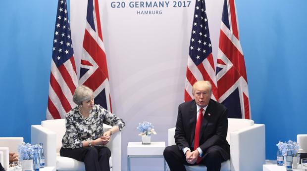 Trump anuló hace unos días una visita prevista al Reino Unido