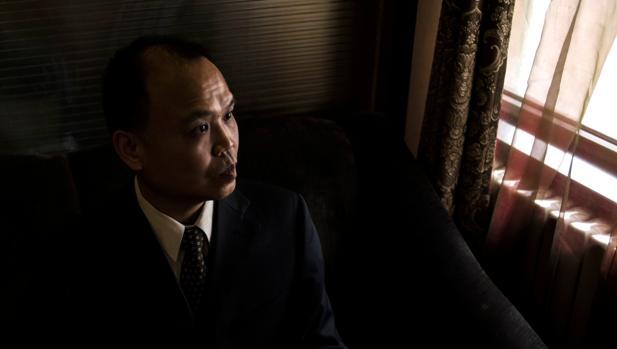 El abogado chino Yu Wensheng, ahora detenido, en una imagen de archivo