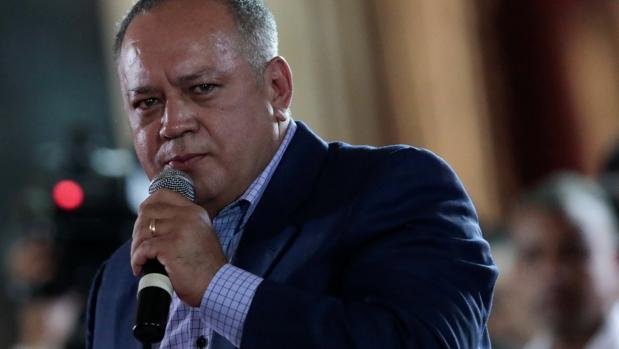 Diosdado Cabello, miembro de la Asamblea Nacional Constituyente y hombre fuerte del régimen