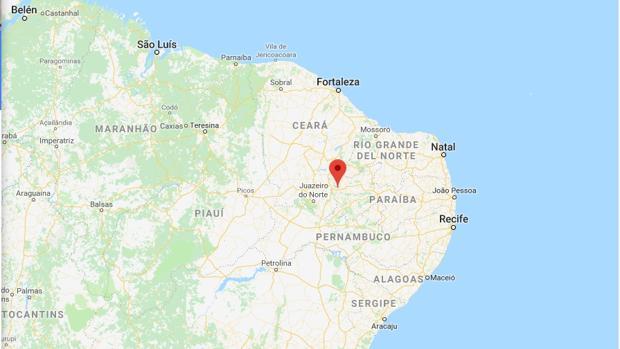 Cajazeiras, en el estado brasileño de Ceará