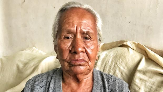 Anuncia Rivero, madre de Pedro Agüero, muestra una foto de su hijo, que fue asesinado