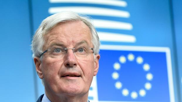 El negociador europeo, Michel Barnier, hoy en Bruselas