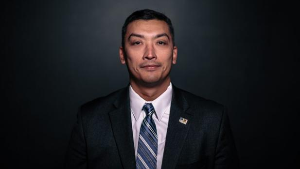 Celestino Martínez, agente especial de la Oficina de Investigaciones de Seguridad Nacional